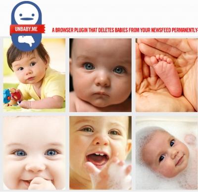 Remplacer les photos de bébés sur Facebook par d'autre photos