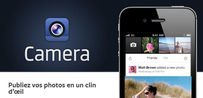Facebook Camera abandonné par Facebook