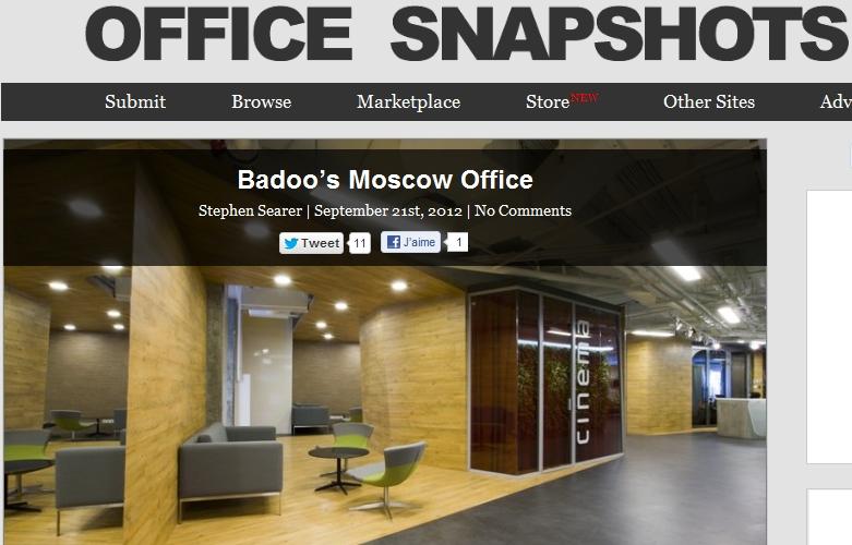 Découverte d'un blog - Office Snapshots