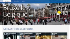 Guide touristique de Nokia Maps sur Bruxelles