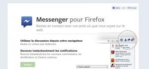 Facebook dans Firefox 17