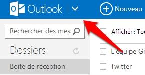 Outlook-bouton-menu