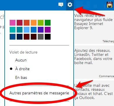 Envoyer des emails Gmails depuis Outlook.com