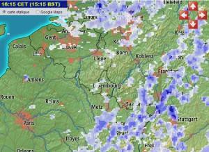 Image du radar météo de Meteox.fr