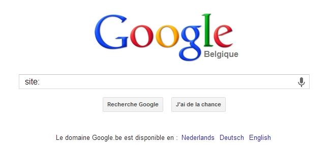 site: un code pour limiter la recherche Google sur une site