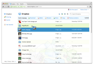 Comment partager en groupe ou avec sa famille sur Dropbox