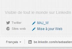 Dévoillez votre blog sur LinkedIn
