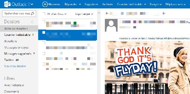 Forcez Outlook.com à ouvrir vos emails à votre guise !
