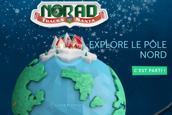 Suivez le Père Noël grâce au NORAD de l'armée américaine