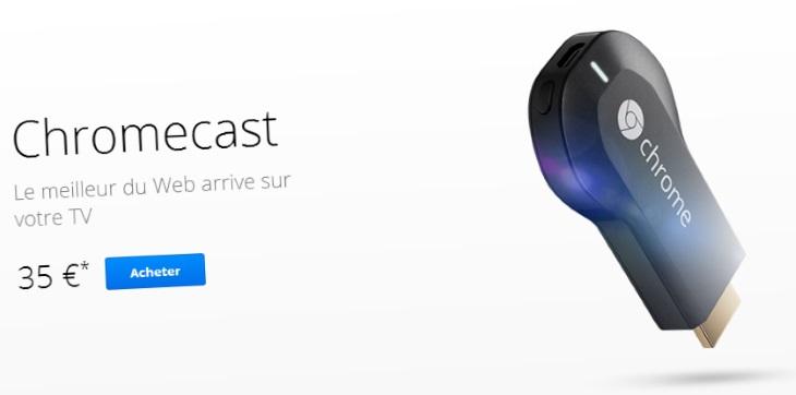 La Chromecast fait entrer Google et le web dans votre TV