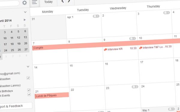Sunrise Calendar débarque enfin sur votre bureau !