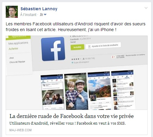 Une checklist pour customiser vos publications sur Facebook