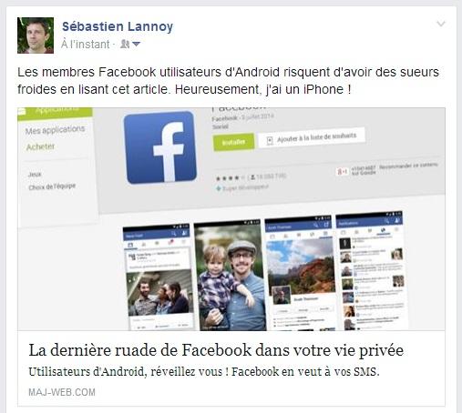 Une checklist pour customiser vos publications sur Facebook