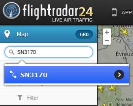 Flightradar24-numero-vol