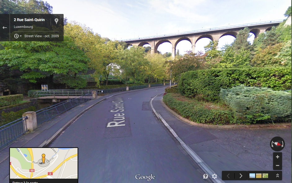 Google Streetview arrive enfin au Luxembourg
