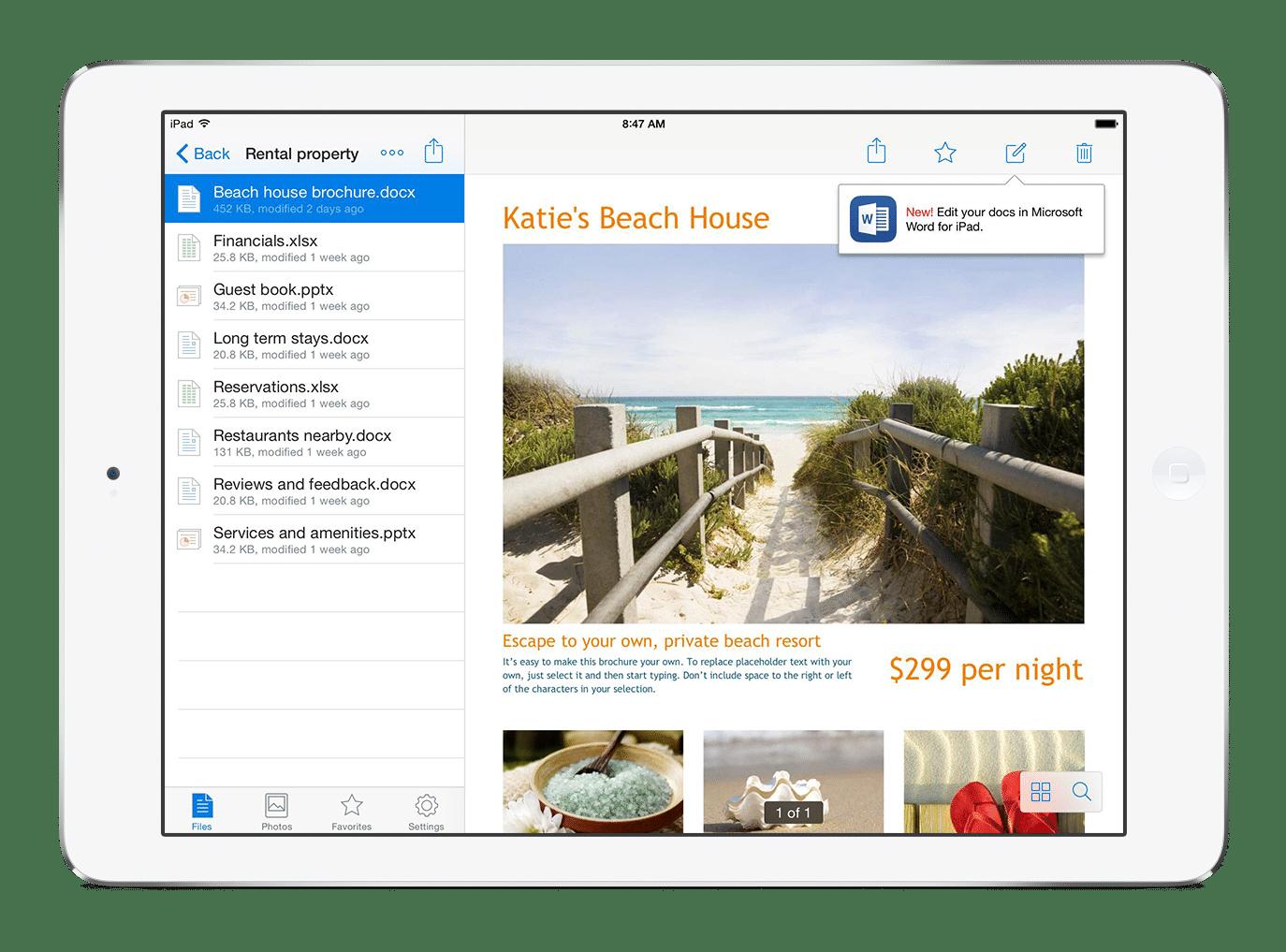 Dropbox choisit Office pour éditer vos documents