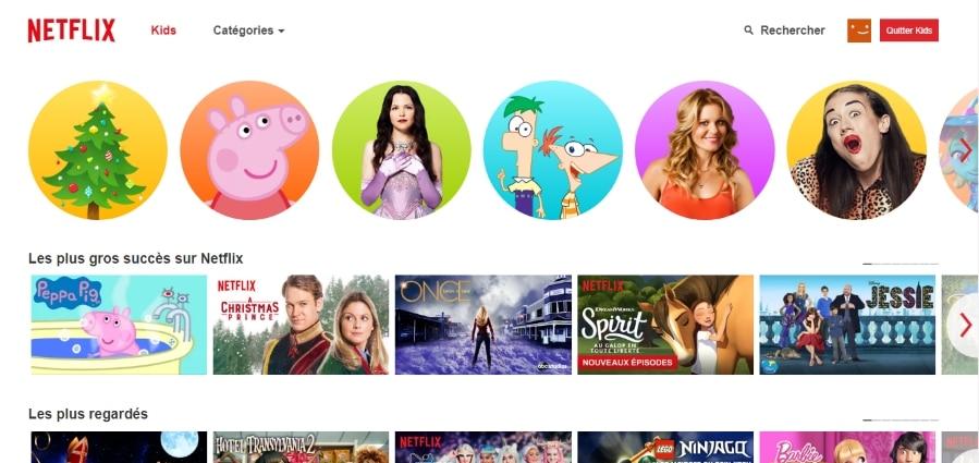 Contrôle parental de Netflix