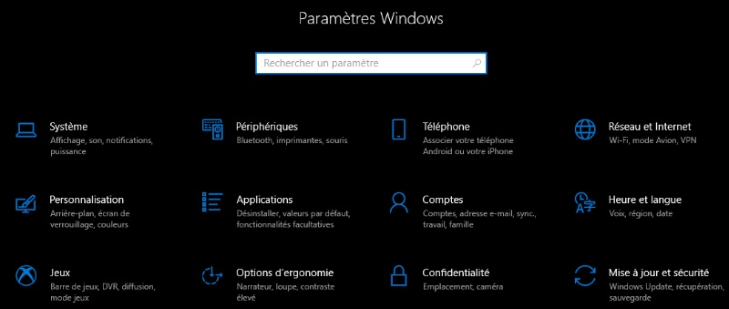 Theme sombre Windows 10: passez du coté obscure de la force