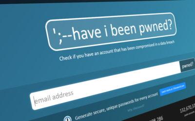 Votre mot de passe est-il connu de tous ? Have i been pwned?