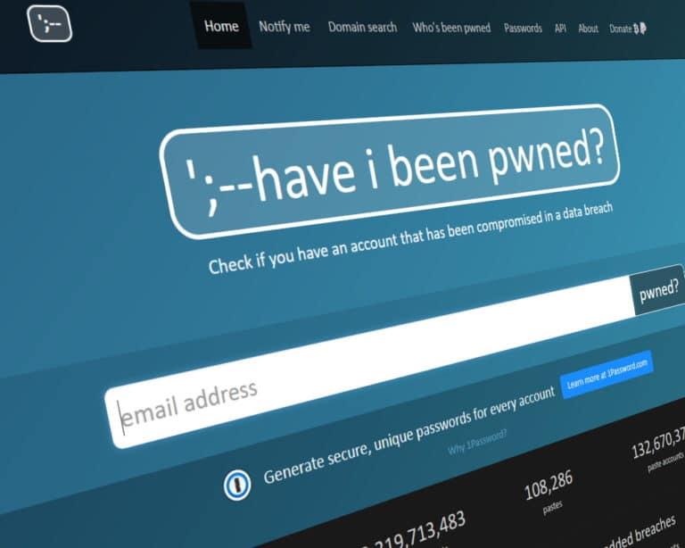 Have I been Pwned ? Votre mot de passe est il safe ?