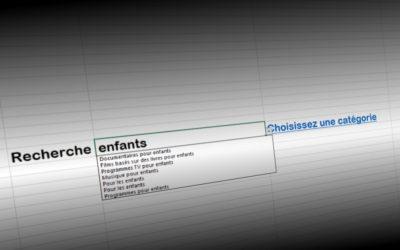 Netflix : 213 catégories cachées dans un fichier Excel