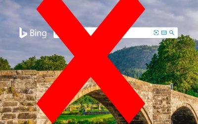 Virez Bing de votre page de démarrage sur Chrome,  Firefox ou Edge