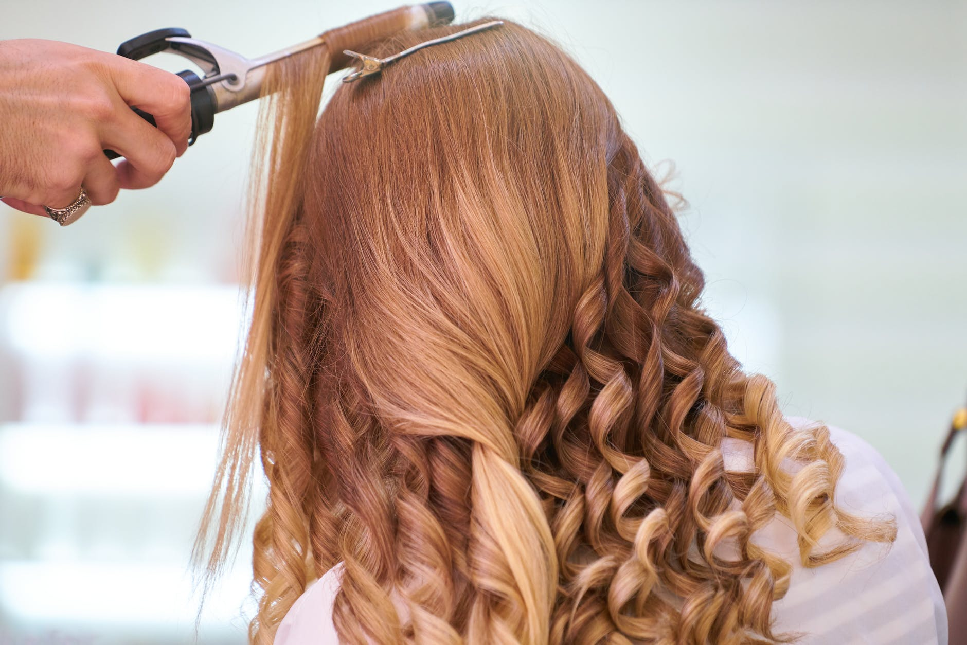 photo of person s hairstyle